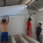 Installation de douches supplémentaires à Koh Kong