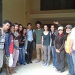 Caroline et Riccardo, bénévoles pour 4 mois, vont donner vie à notre nouveau projet.
