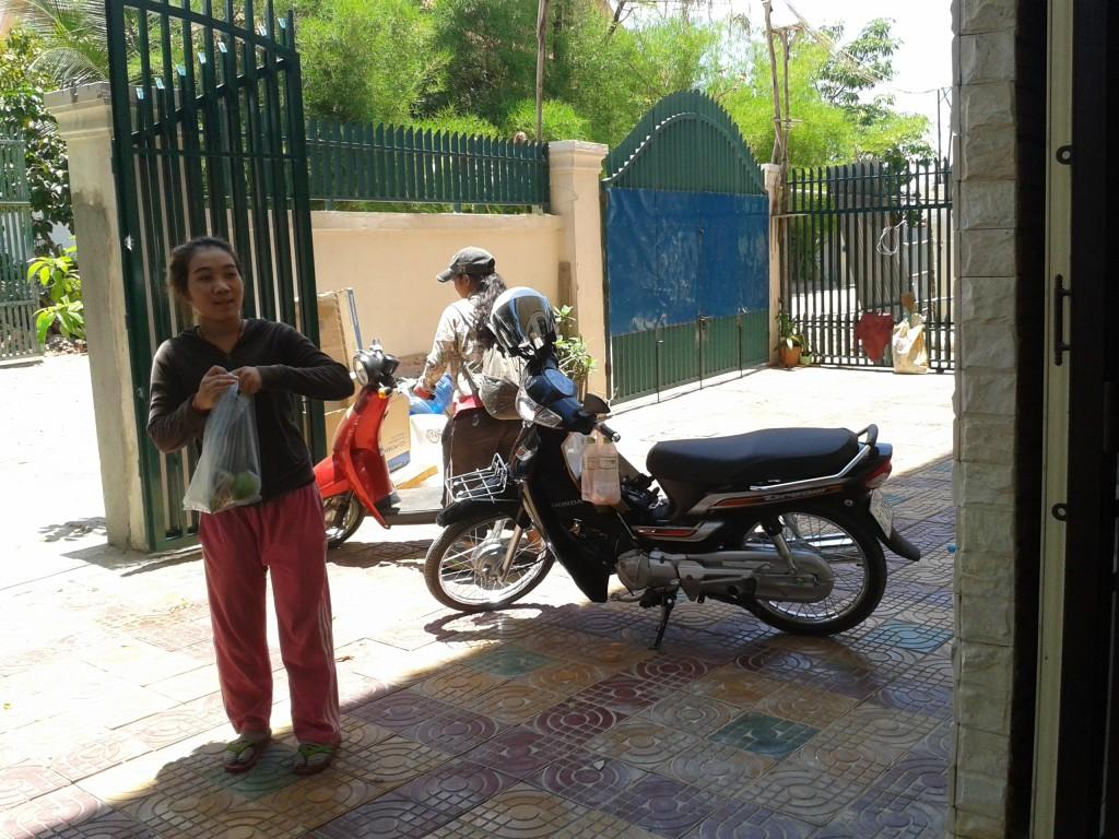Les jeunes peuvent nous rejoindre à vélo ou à moto.