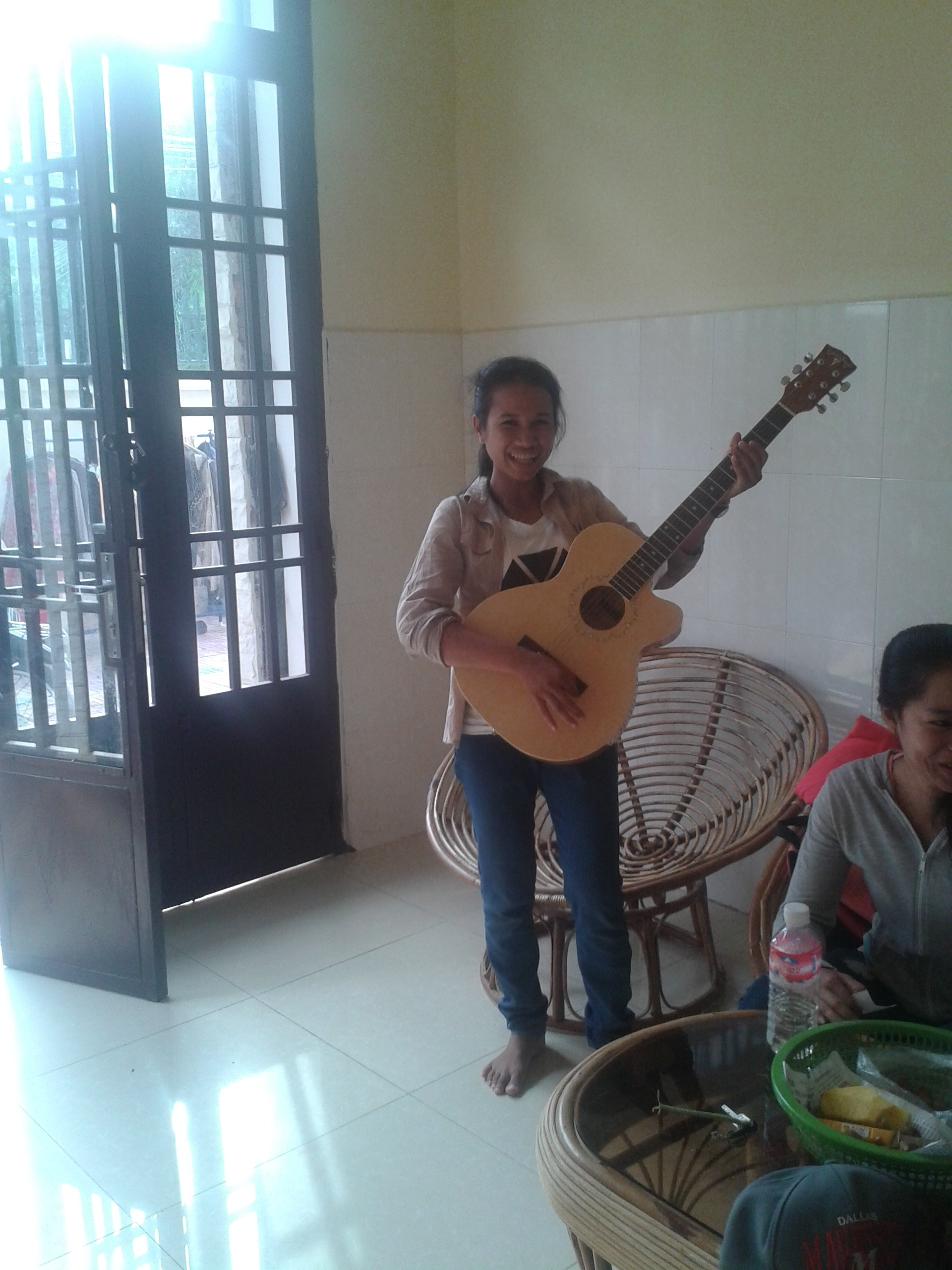 Les cours de guitare sont prévus