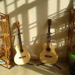Les guitares...