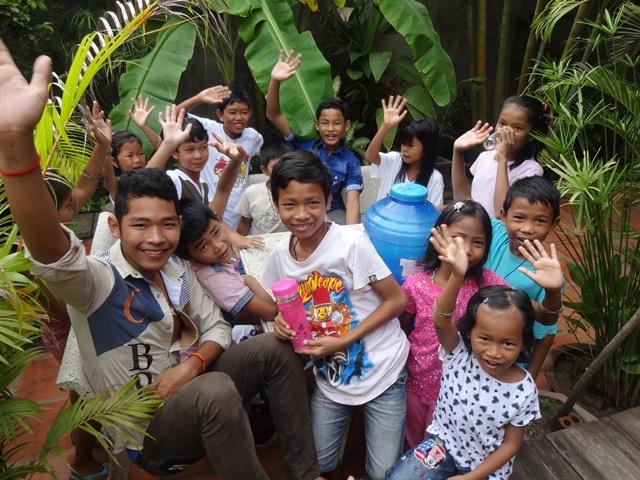 Les jeunes de Koh Kong