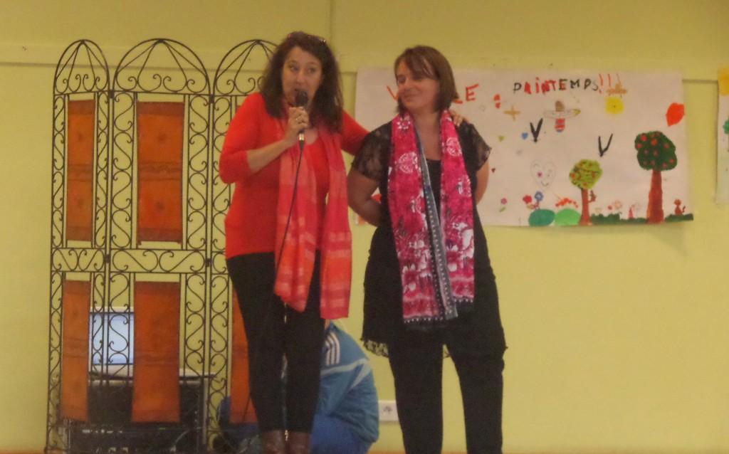 Présentation avec Sandrine Senaoui